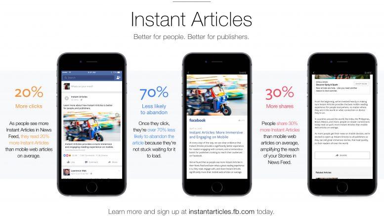 Articles instantanés